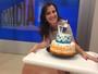 Patrícia Rocha é homenageada por telespectadores em seu aniversário