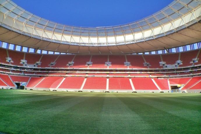Estádio Mané Garrincha será palco de clássico nesta quarta-feira (Foto: Marcos Silva / TV Globo)