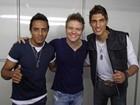 Danilo Reis e Rafael já cantaram para 40 mil pessoas em show de Michel Teló