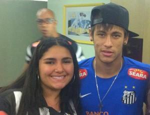 Torcedora fã de Neymar (Foto: Reprodução / Facebook)