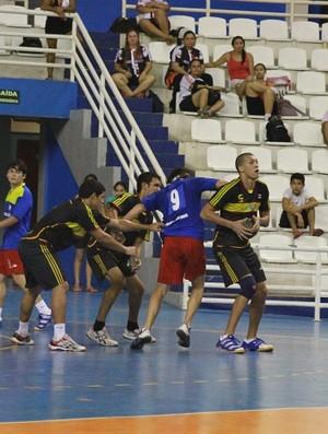 Adalberto Valle e Nilton Lins, handebol masculino (Foto: Frank Cunha/Globoesporte.com)