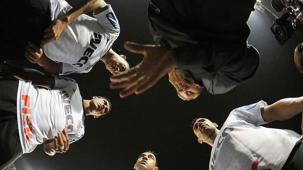 Corinthians x Santos, time do Corinthians (Foto: Marcos Ribolli  / Globoesporte.com)