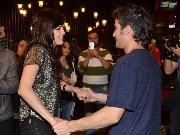 Sophia Abrahão e Fiuk em evento em São Paulo (Foto: Caio Duran / AgNews)