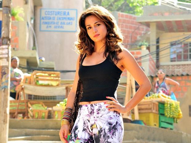 Nanda vai interpretar sua primeira protagonista (Foto: Salve Jorge/TV Globo)