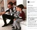 Antes de clássico, Bonucci posta foto e mostra que filho torce para o... Torino!