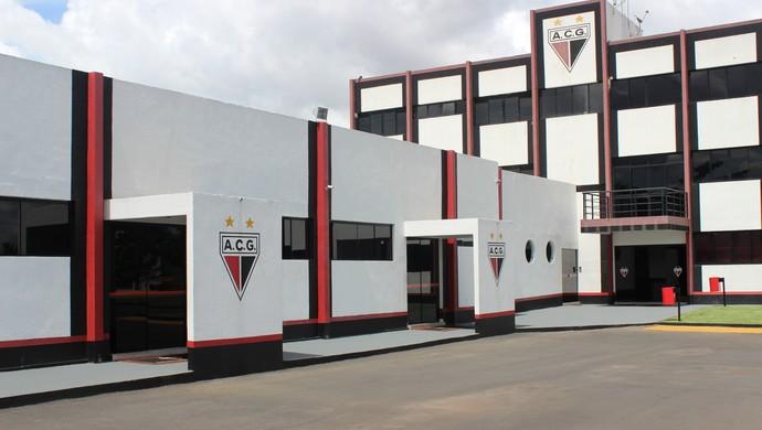 Centro de Treinamentos do Atlético-GO (Foto: Fernando Vasconcelos / Globoesporte.com)