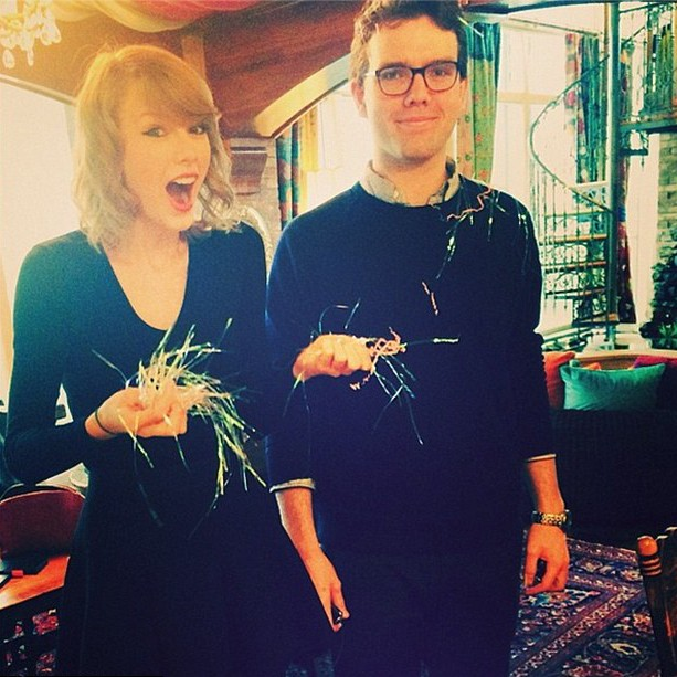 Taylor e Austin Swift (Foto: Instagram)
