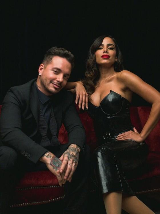 J Balvin e Anitta: dupla canta nova música junto, pela primeira vez, logo mais em Las Vegas (Foto: Reprodução Instagram)