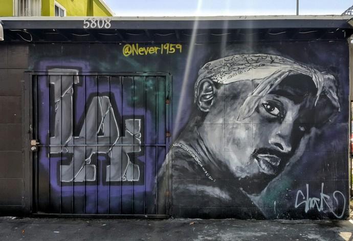 Grafite Tupac Compton (Foto: Felipe Schmidt)