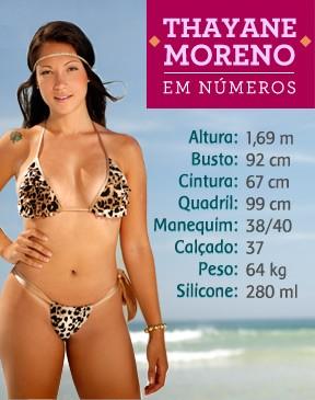 Thayane Moreno (Foto: EGO)