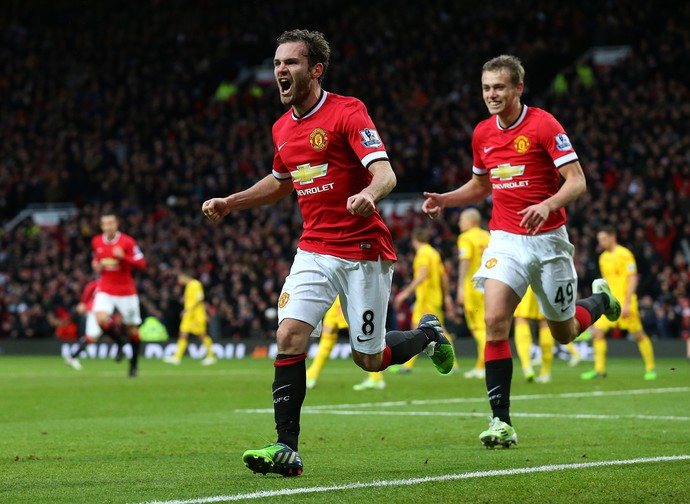juan mata Manchester United x Liverpool (Foto: Getty Images)