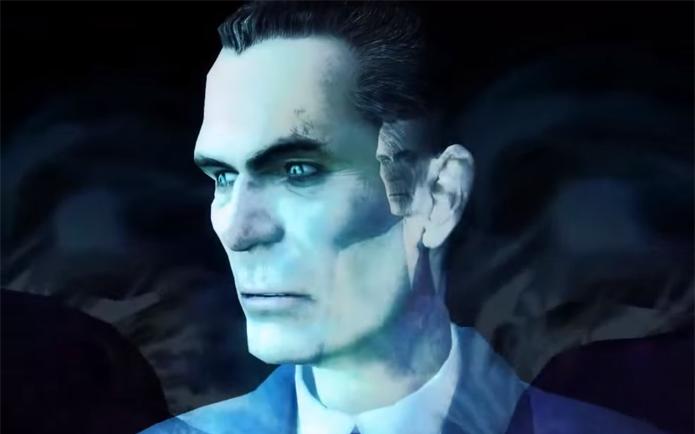 Misterioso, G-Man é um elemento central da história de Half Life (Foto: Reprodução/YouTube)