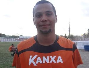 Jairo, meio-campista do CRB (Foto: Paulo Victor Malta / GLOBOESPORTE.COM)