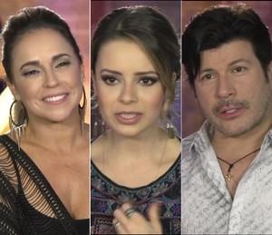 Daniela Mercury, Sandy e Paulo Ricardo são só gratidão aos fãs (Foto: Gshow)