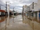 Chuva em SC afeta abastecimento de água e luz em alguns municípios