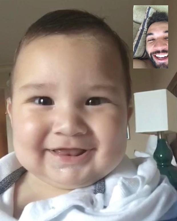 Jonathan Costa posta foto com o filho (Foto: Reprodução/Instagram)