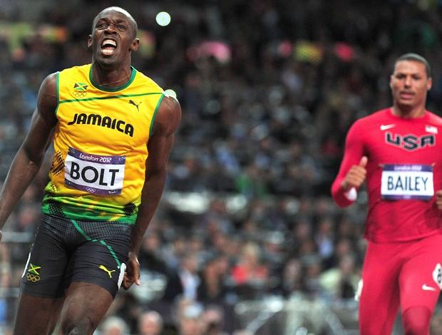 Usain Bolt, Atletismo, 100m Ouro, Medalha (Foto: Agência Getty Images)