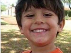 O menino Joaquim está desaparecido desde terça-feira (Foto: Divulgação/Arquivo Pessoal)