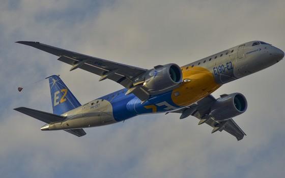 Avião da Embraer (Foto: Divulgação)
