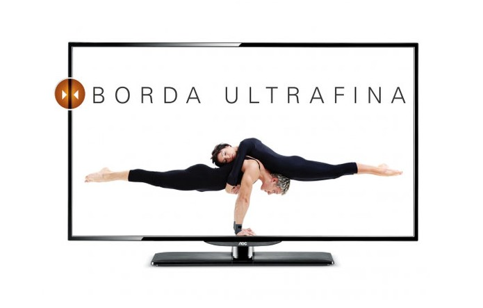 TV LED AOC LE40D1442 tem tela com resolução Full HD em 40 polegadas (Foto: Divulgação/AOC)