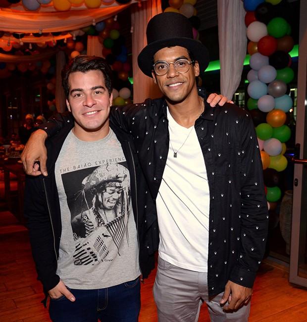 Thiago Martins e Marcello Melo Jr. (Foto: Leonardo Marinho/ Brazil News)