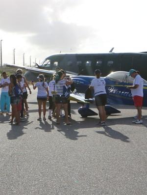Exposição estática Corrida da Asa Base Aérea de Fortaleza (Foto: Divulgação)