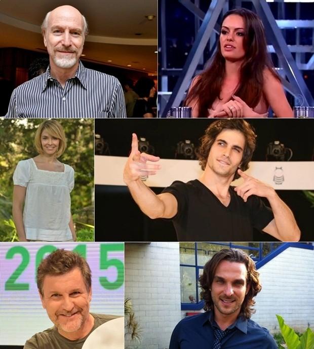 Atores que farão parte do elenco da Paixão de Cristo 2016 (Foto: Divulgação)