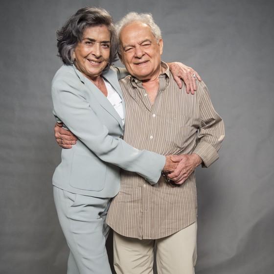 Os veteranos atores Betty Faria e Othon Bastos vão viver um casal na novela de Glória Perez (Foto: TV Globo/ Maurício Fidalgo)