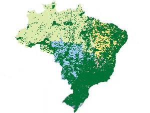 Atlas mostram distribuição dos médicos em todo o país (Foto: Divulgação / Cremesp / CFM)