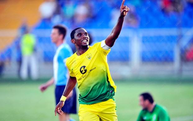 Samuel Eto'o Anzhi (Foto: Reprodução / Site Oficial)