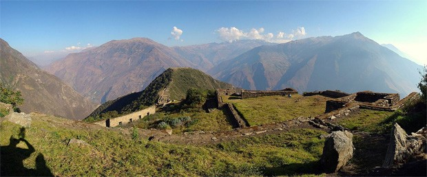 Choquequirao, no Peru (Foto: Wikimedia Commons)
