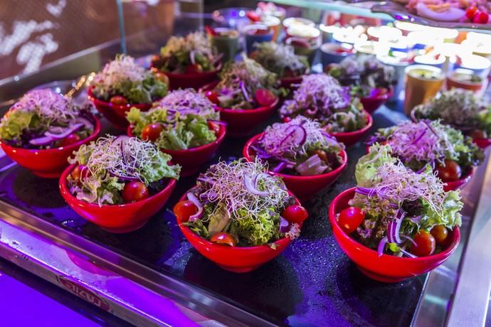 Temos salada? Sim! (Foto: Artur Meninea/Gshow)