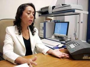Delegada Adriana Shirley, titular da DEA (Foto: Adriano Abreu/Tribuna do Norte)
