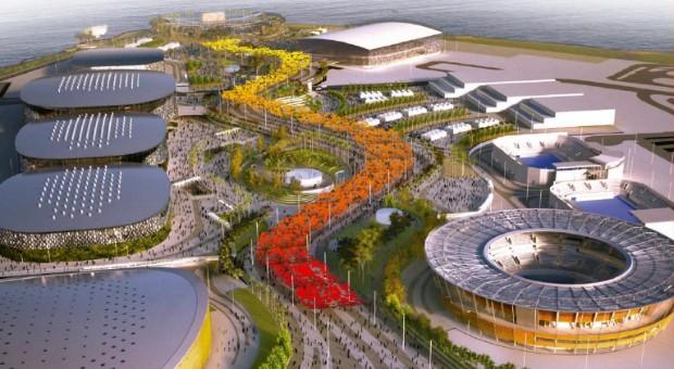 Perspectiva do Parque Olímpico de 2016 (Foto: Divulgação/Rio 2016)