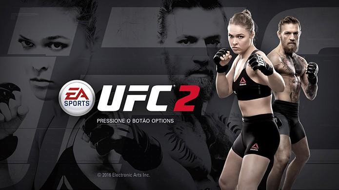 EA Sports UFC 2 é o novo game de MMA (Foto: Reprodução/Thiago Barros)