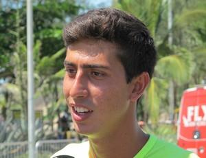 Campeão dos 20 km da Copa Brasil, Caio Bonfim aprovou o circuito olímpico do Rio 2016 (Foto: Carol Fontes)