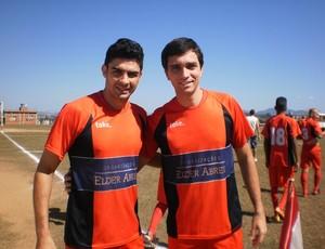 Patrick e Rodrigo Futebol Amador Muriaé (Foto: Raphael Lemos)