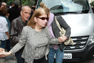 Cecília, esposa de Umberto Magnani (Foto: Amauri Nehn/Brazil News)