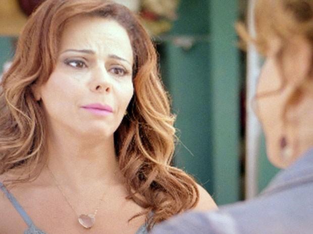 E conversa com Naná também... (Foto: TV Globo)