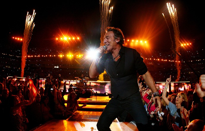 Bruce Springsteen superbowl 2009 (Foto: Jamie Squire / Getty Images)