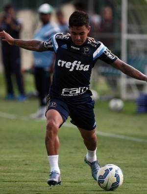 Dudu, Palmeiras, treino em Atibaia