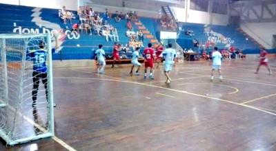 Jogos da Liga de Handebol MS (Foto: Divulgação/FHMS)