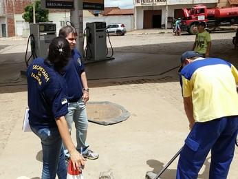 Operação fiscalizou 101 postos de combustíveis em Pernambuco (Foto: Sefaz-PE / Divulgação)