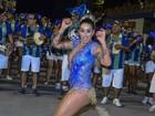 Decotadíssima, Dani Bolina vai a ensaio de carnaval em São Paulo