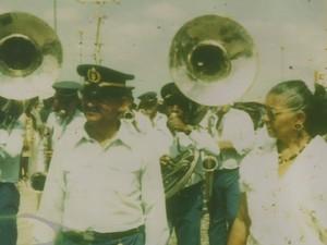 José Menezes foi maestro da Philarmônica 21 de Setembro em Petrolina (Foto: Arquivo pessoal / Família)