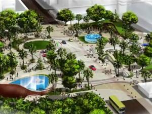 Prefeitura de Fortaleza defende projeto de mudança na Praça Portugal (Foto: Prefeitura de Fortaleza/Divulgação)