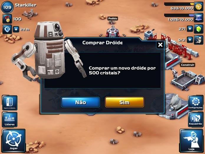 Star Wars Commander (Foto: Felipe Vinha/TechTudo)