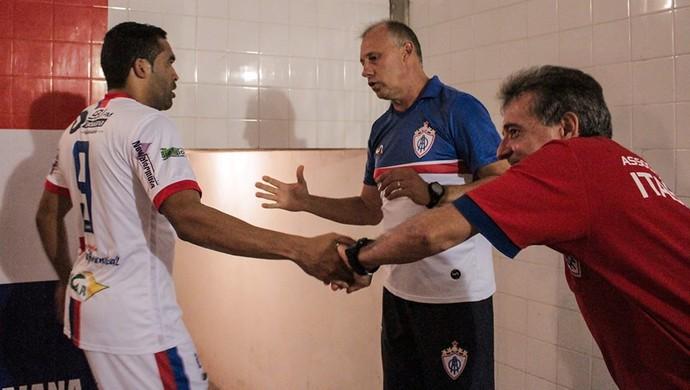 Ailton Silva fala de bom momento do Itabaiana (Foto: Wendell Rezende/AOItabaiana)