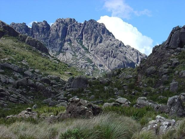 Pico das 0Agulhas Negras no Parque Nacional do Itatiaia (Foto: Daniel Toffoli/Parque Nacional do Itatiaia)