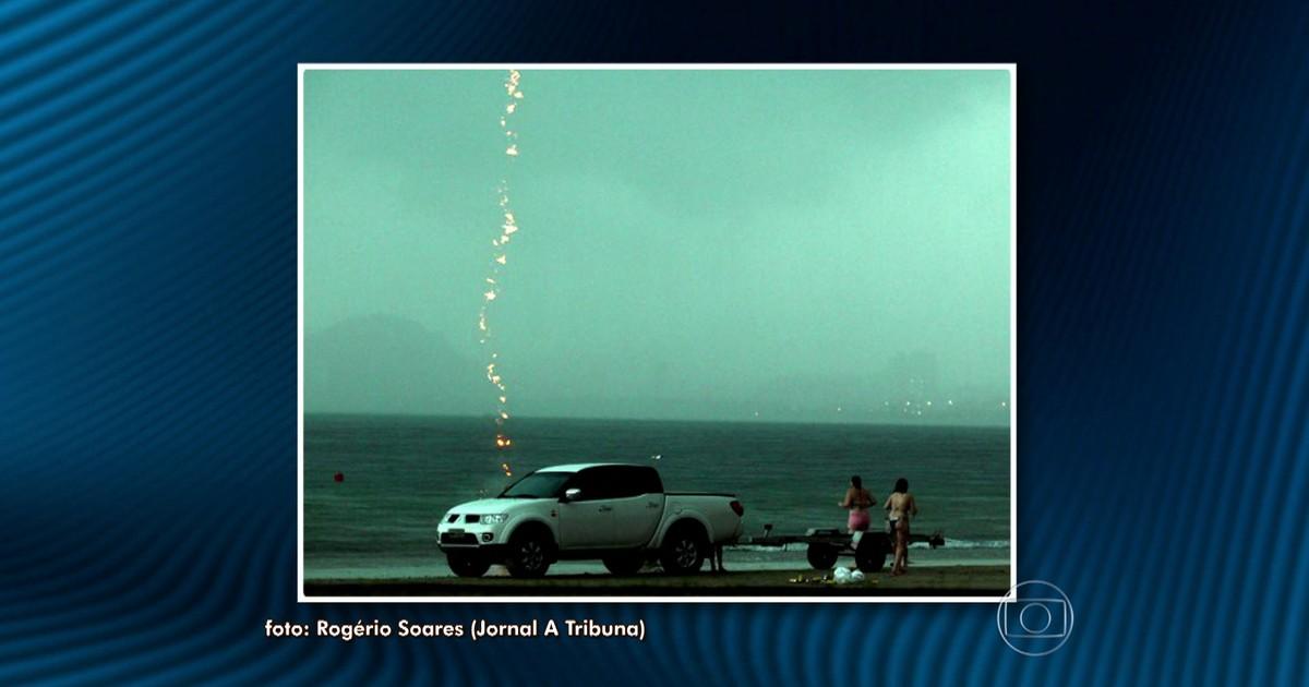 Especialistas explicam morte de mulher durante tempestade de raios